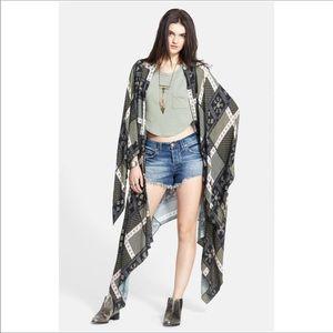 Free People | Mixed Pattern Kimono Duster